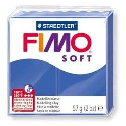 Пластика Soft, Синяя блестящая, 57г, Fimo