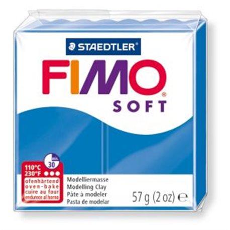 Фото Пластика Soft, Синя, 57г, Fimo