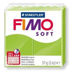 Пластика Soft, Зелене яблуко, 57г, Fimo