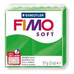 Пластика Soft, Тропическая зеленая, 57г, Fimo