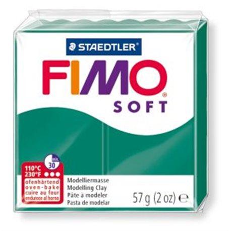 Фото Пластика Soft, Смарагдовий зелена, 57г, Fimo