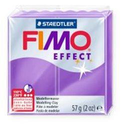 Пластика Effect, Фиолетовая полупрозрачная, 57г, Fimo