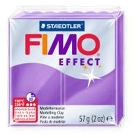 Фото Пластика Effect, Фіолетова напівпрозора, 57г, Fimo