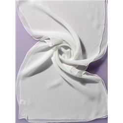 Хустка, Білий, 45 * 45, 100% шовк, Ideen