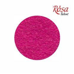 Фетр листовий (поліестер), 21,5х28 см, Рожевий темний, 180г / м2, ROSA TALENT