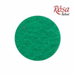 Фетр листовий (поліестер), 21,5х28 см, Зелений світлий, 180г / м2, ROSA TALENT