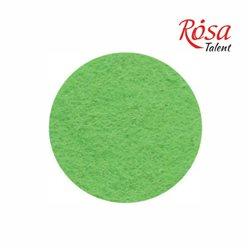 Фетр листовой (полиэстер), 21,5х28 см, Салатовый, 180г/м2, ROSA TALENT