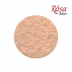 Фетр листовий (поліестер), 21,5х28 см, Тілесний, 180г / м2, ROSA TALENT