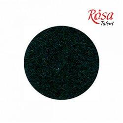Фетр листовий (поліестер), 21,5х28 см, Чорний, 180г / м2, ROSA TALENT