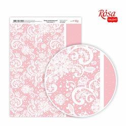 """Бумага дизайнерская односторонняя """"Love&nbspstory"""" 1, 21х29,7 см, глянцевая, 250 г/м2, ROSA TALENT"""