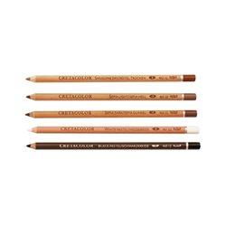 Набор карандашей для рисунка, Сангина средняя, 3 шт.,Cretacolor