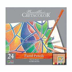 Набор пастельных карандашей, Fine Art Pastel, 24шт., мет. упаковка, Cretacolor