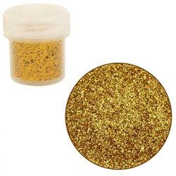 Сухие блестки, Золотые, JJCC02-64, 7г, 0,4 мм