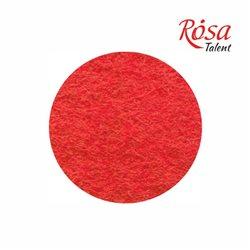 Фетр листовой (полиэстер), 21,5х28 см, Красный, 180г/м2, ROSA TALENT