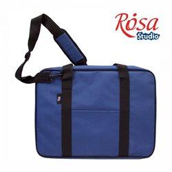 Сумка для бумаги на молнии, А2, синий, ROSA Studio