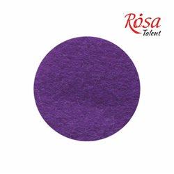 Фетр листовий (поліестер), 21,5х28 см, Сливовий, 180г / м2, ROSA TALENT