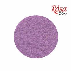 Фетр листовой (полиэстер), 21,5х28 см, Фиолетовый пастельный, 180г/м2, ROSA TALENT