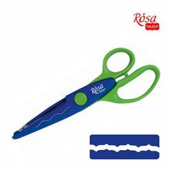 Фигурные ножницы №12, 16,5х6,5см, ROSA TALENT