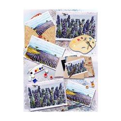 Бумага для декупажа, Прованские пейзажи, 30,8*44см, 45г/м2
