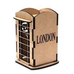"""Чайный домик 2, серия """"Лондон"""", МДФ, 12х12х17,5см, ROSA TALENT"""