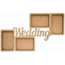 "Заготовка рамка ""Wedding"", МДФ, 50х28х0,6см, ROSA TALENT"