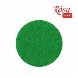 Фетр листовой (полиэстер), 29,7х42 см, Зеленый светлый, мягкий, 180г/м2, ROSA TALENT