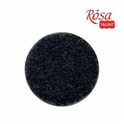 Фетр листовий (поліестер), 29,7х42 см, Чорний, м'який, 180г / м2, ROSA TALENT