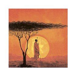 "Декупажние серветки ""African Sunset"", 33 * 33 см, 17,5 г / м2, 20 шт, ti-flair"