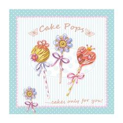 """Декупажние серветки """"Cake Pops"""", 33 * 33 см, 17,5 г / м2, 20 шт, ti-flair"""
