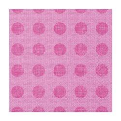 """Декупажные салфетки """"Горохи"""", розовые, 33*33 см, 17,5 г/м2, 20 шт, ti-flair"""