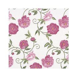 """Декупажные салфетки """"Цветочный орнамент"""", розовые, 33*33 см, 17,5 г/м2, 20 шт, ti-flair"""