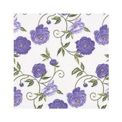 """Декупажние серветки """"Квітковий орнамент"""", фіолетові, 33 * 33 см, 17,5 г / м2, 20 шт, ti-flair"""