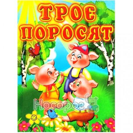 """Книжка-игрушка Друзья малыша - Трое поросят """"Смайл"""" (укр.)"""
