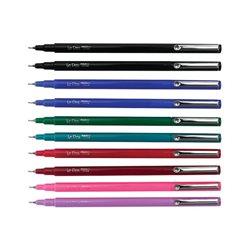 Ручка для паперу, Фіолетова, флюоресцентная, капілярна, 0,3мм, 4300-S, Le Pen, Marvy