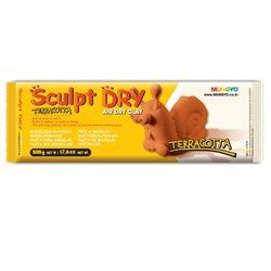 Масса для моделирования, терракотовая, самозастывающая, 500 г., ''Sculpt Dry'', MUNGYO