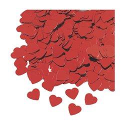 Набор декоративных сердечек, Красный, 0,5-1см, 20г, Knorr Prandell