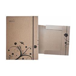 Папка-коробка для живописи на резинке А4, SMILTAINIS