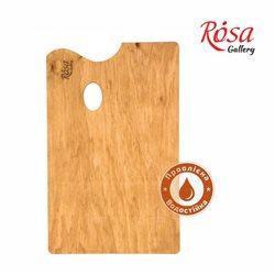 Палитра деревянная, под этюдники французского типа, прямоугольная, промасленная, 45,5х28,5 см, ROSA Gallery