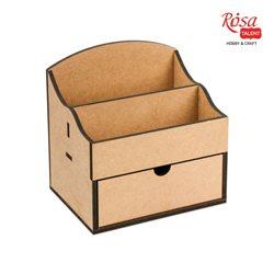 Комод-органайзер, 1 ящик, МДФ, 20х15х20,5см, ROSA TALENT