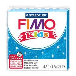 Пластика Fimo kids, Блакитна з блискітками, 42г, Fimo