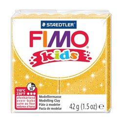 Пластика Fimo kids, Золото з блискітками, 42г, Fimo
