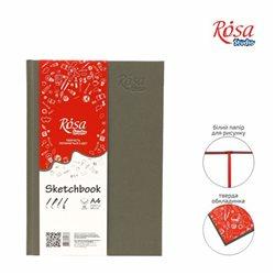 Блокнот A4 (21х29,7см), 100г/м, 96л., ROSA Studio