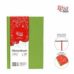 Блокнот A5 (14,8 * 21см), 100г / м, 96л., Фісташка, ROSA Studio