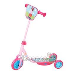 Самокат детский лицензионный Peppa (3-х колесный)