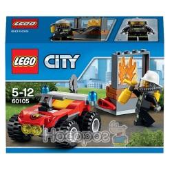 """Конструктор LEGO 60105 """"Пожарный мотовездеход"""""""