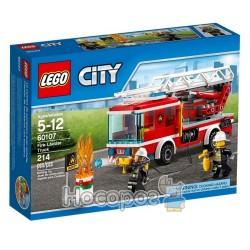 """Конструктор LEGO """"Пожарная машина с лестницей"""" 60107"""