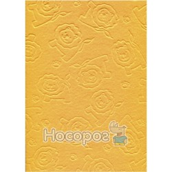 Фетр листовой ROSA Talent эмбосинг, желтый, лев