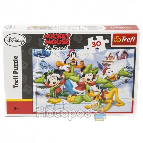 "Пазл ""Пушистый снег"" Disney"