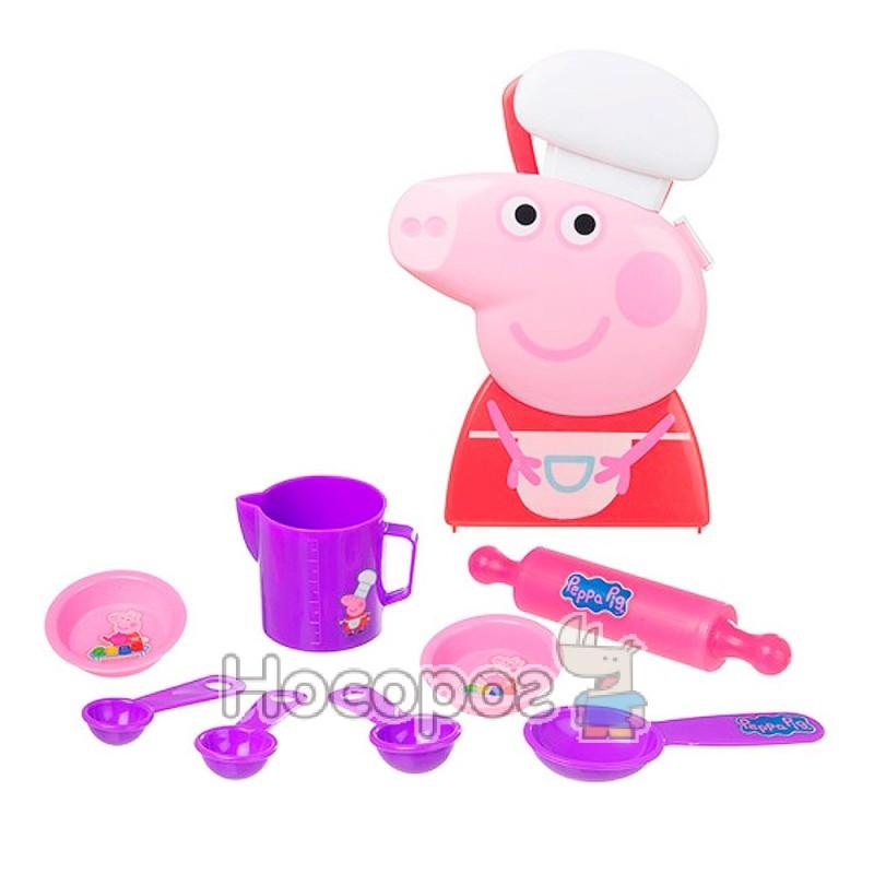 Фото Игровой набор Peppa - Кейс шеф-повара Пеппы (с аксессуарами)