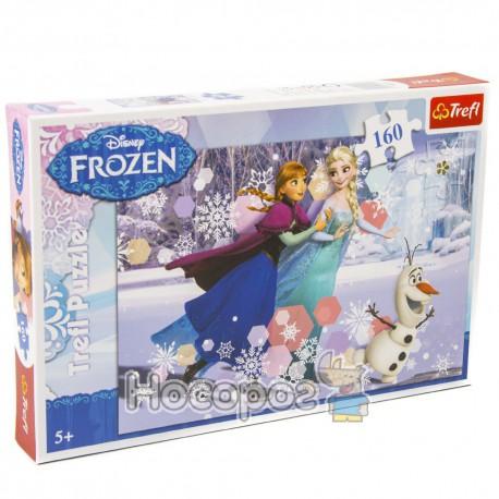 "Фото Пазл ""Катание на лыжах"" Disney Frozen"